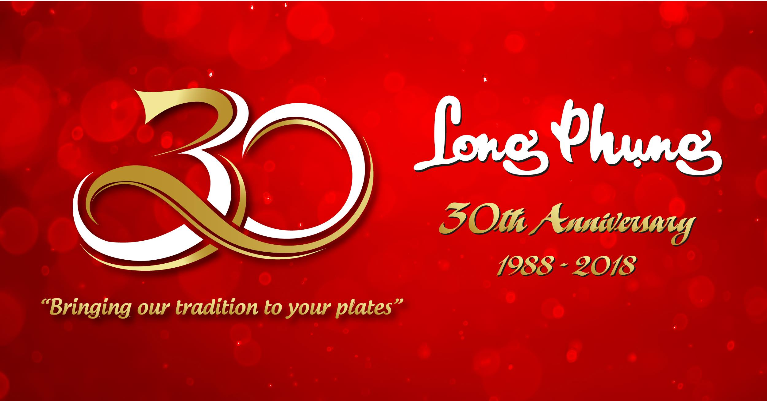 Long Phung 30th Annversary Gala